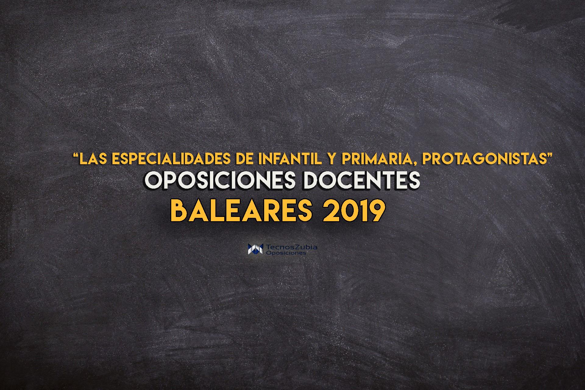 Anunciadas oposiciones docentes en Baleares; habra más de 1000 plazas