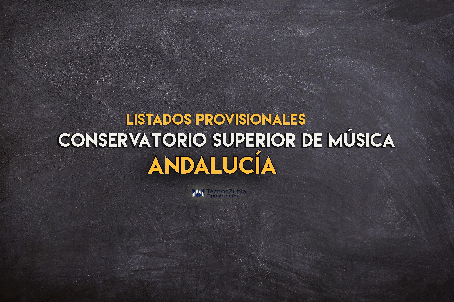 apertura de bolsas para conservatorio superior de música en Andalucia