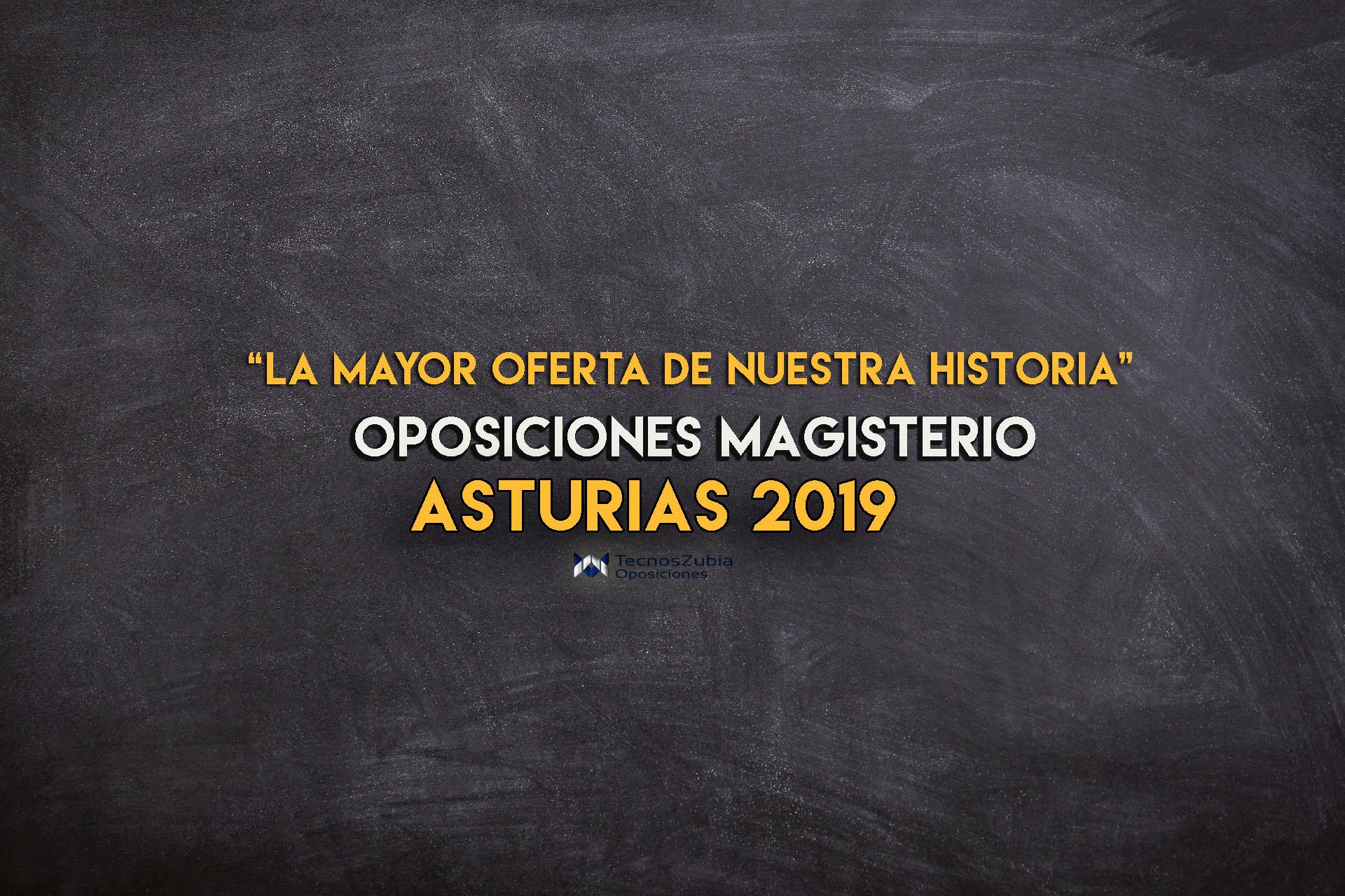 Anunciada fechas y plazas de las Oposiciones a Maestros en Asturias 2019