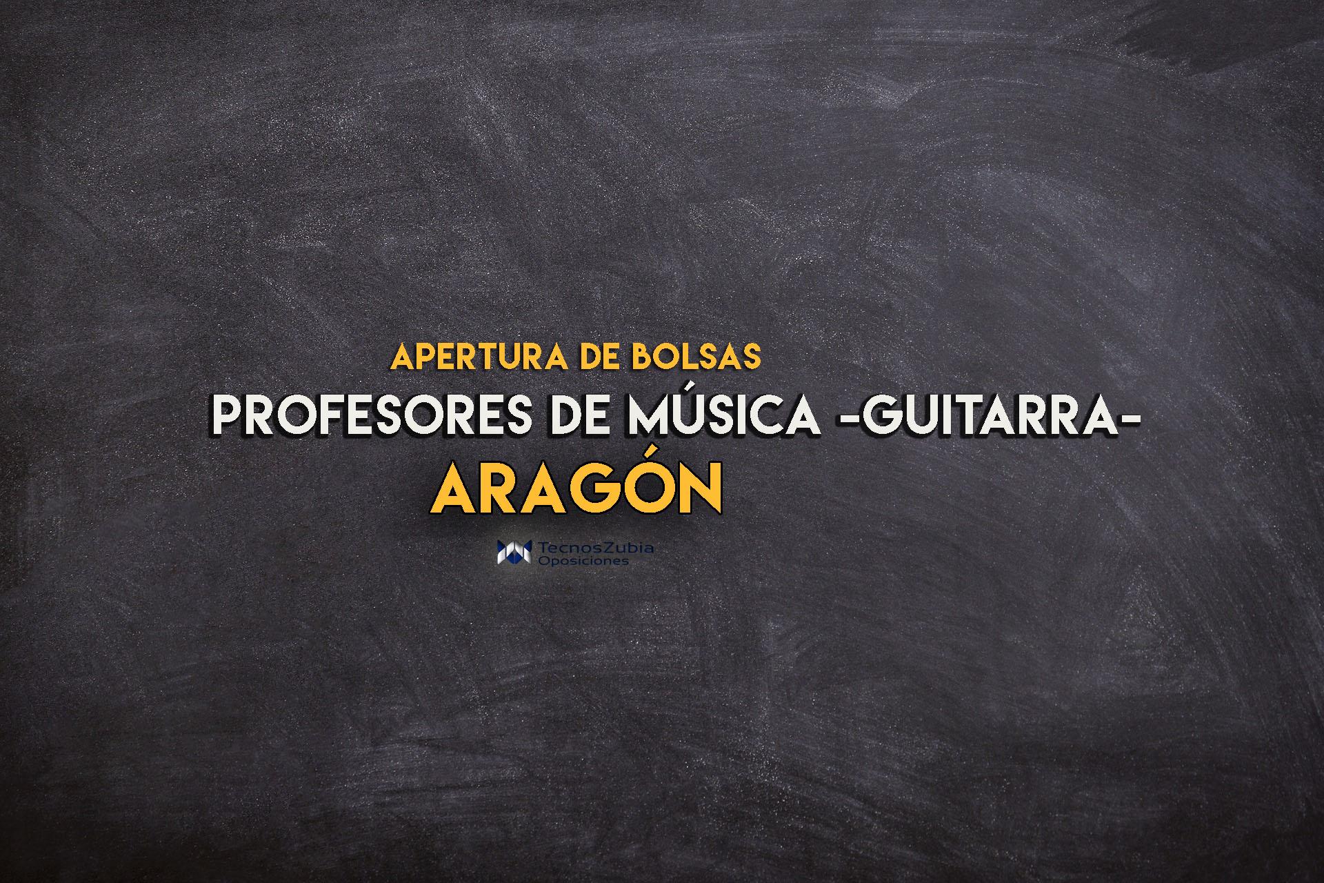 nueva bolsa para profesores de musica en Aragón