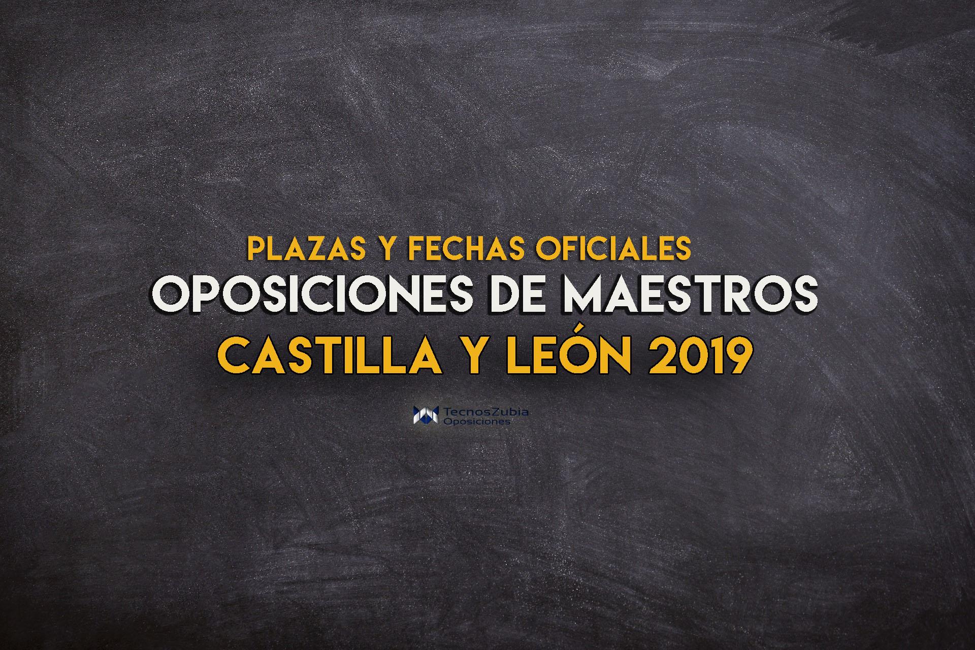 Anunciadas las oposiciones de maestros Castilla y León 2019: toda la información