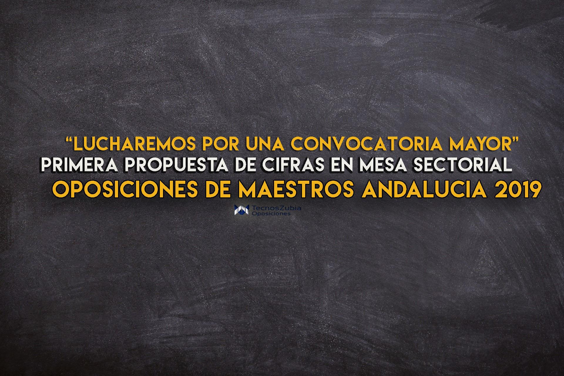 Oposiciones de maestros Andaluicía 2019: primera previsión