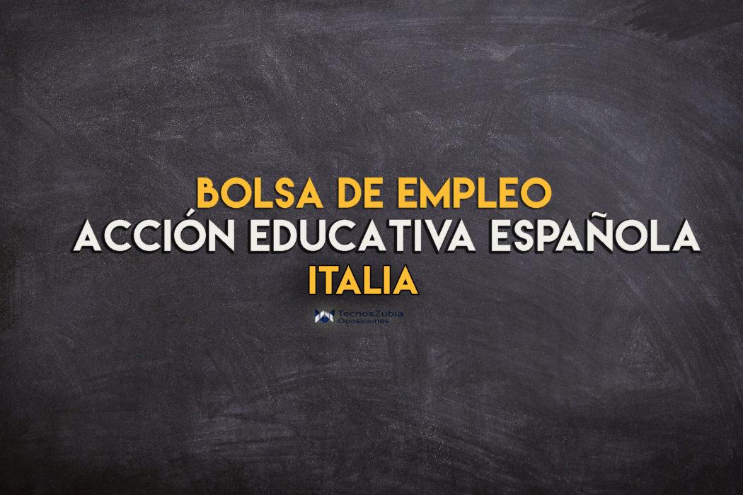 Abierta bolsa de empleo para profesores en Italia